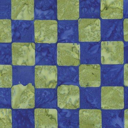Kaffe Fassett Artisan Chess Cobalt batik