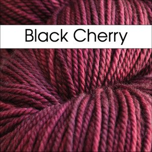 Black Cherry Lunaris by Anzula Fingering/Sock Weight