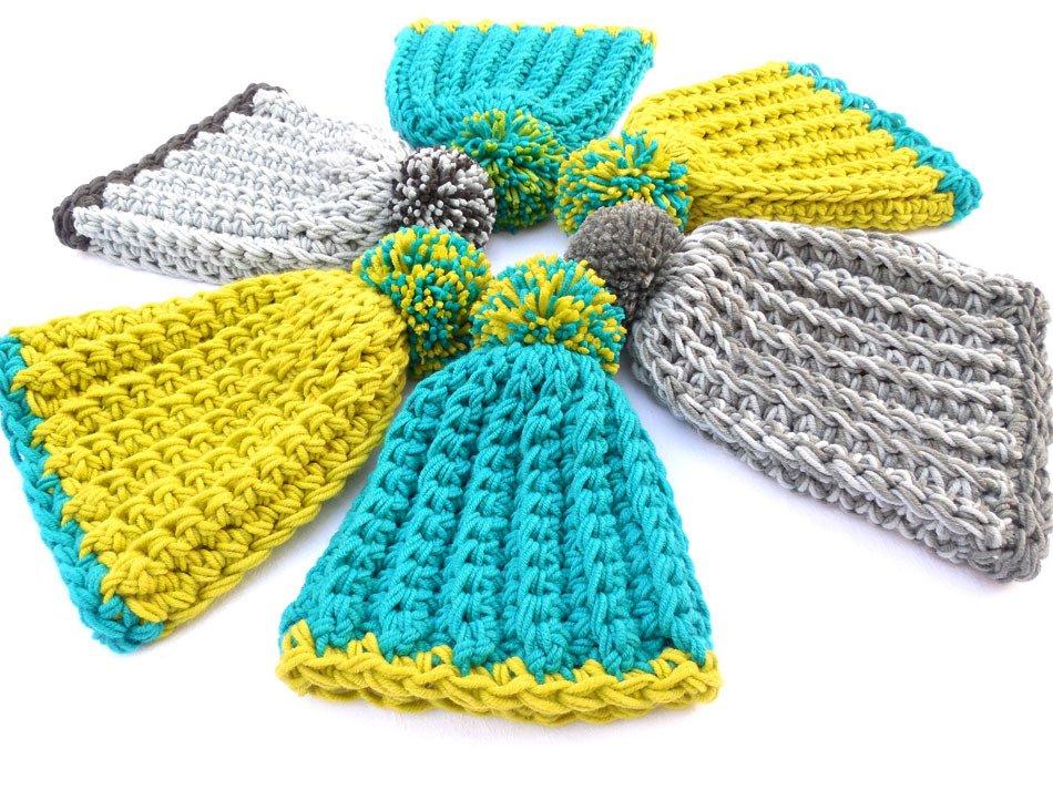Blimey crochet hat by OneLoop Shy Designs