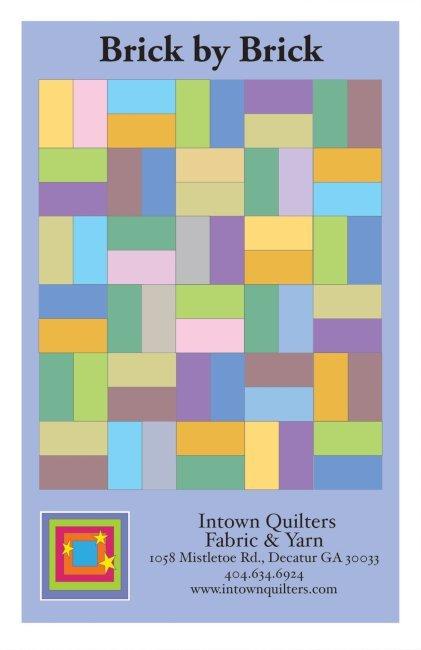 Brick by Brick PDF quilt pattern