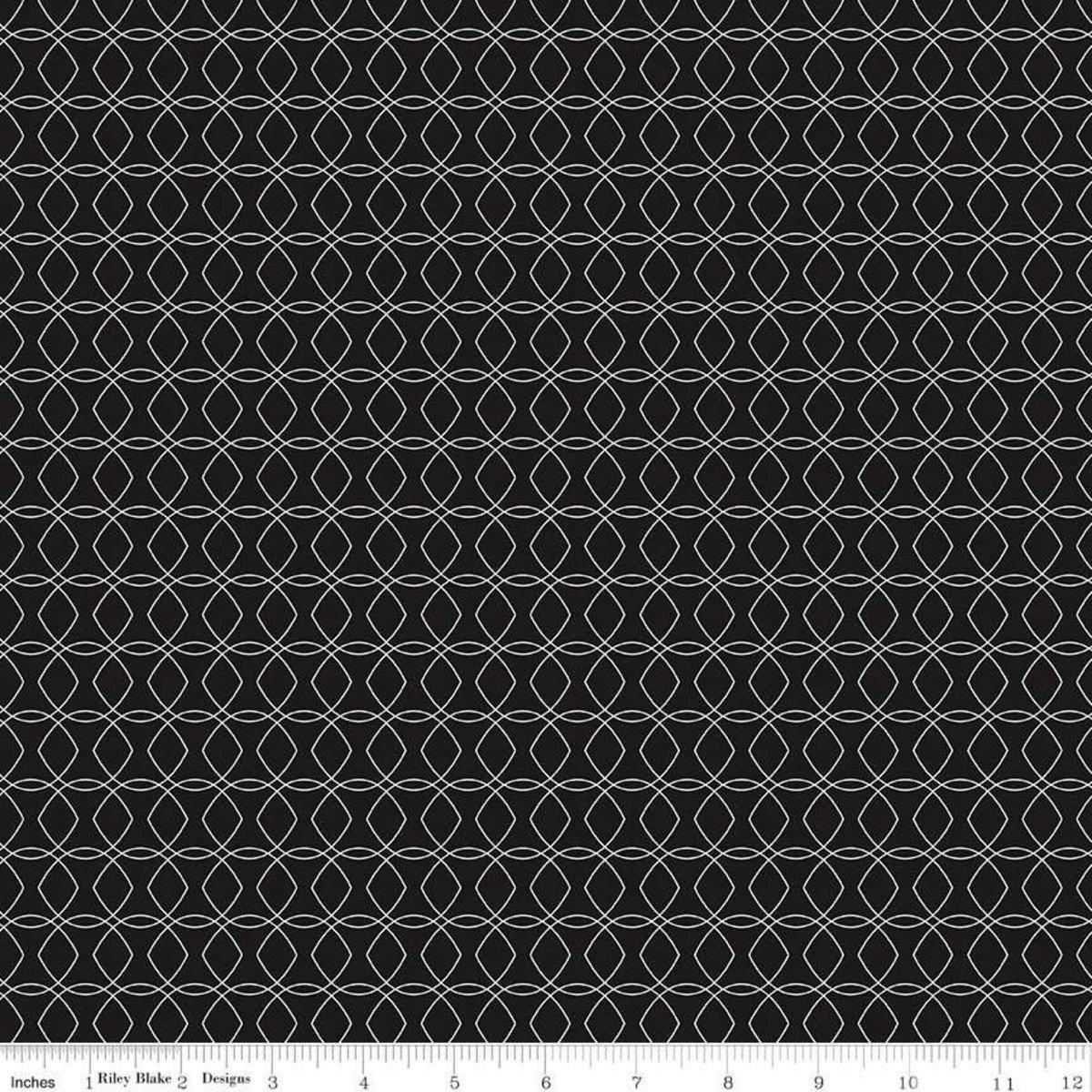 Black Intertwine C8335-BLACK Juniper by Jen Allyson