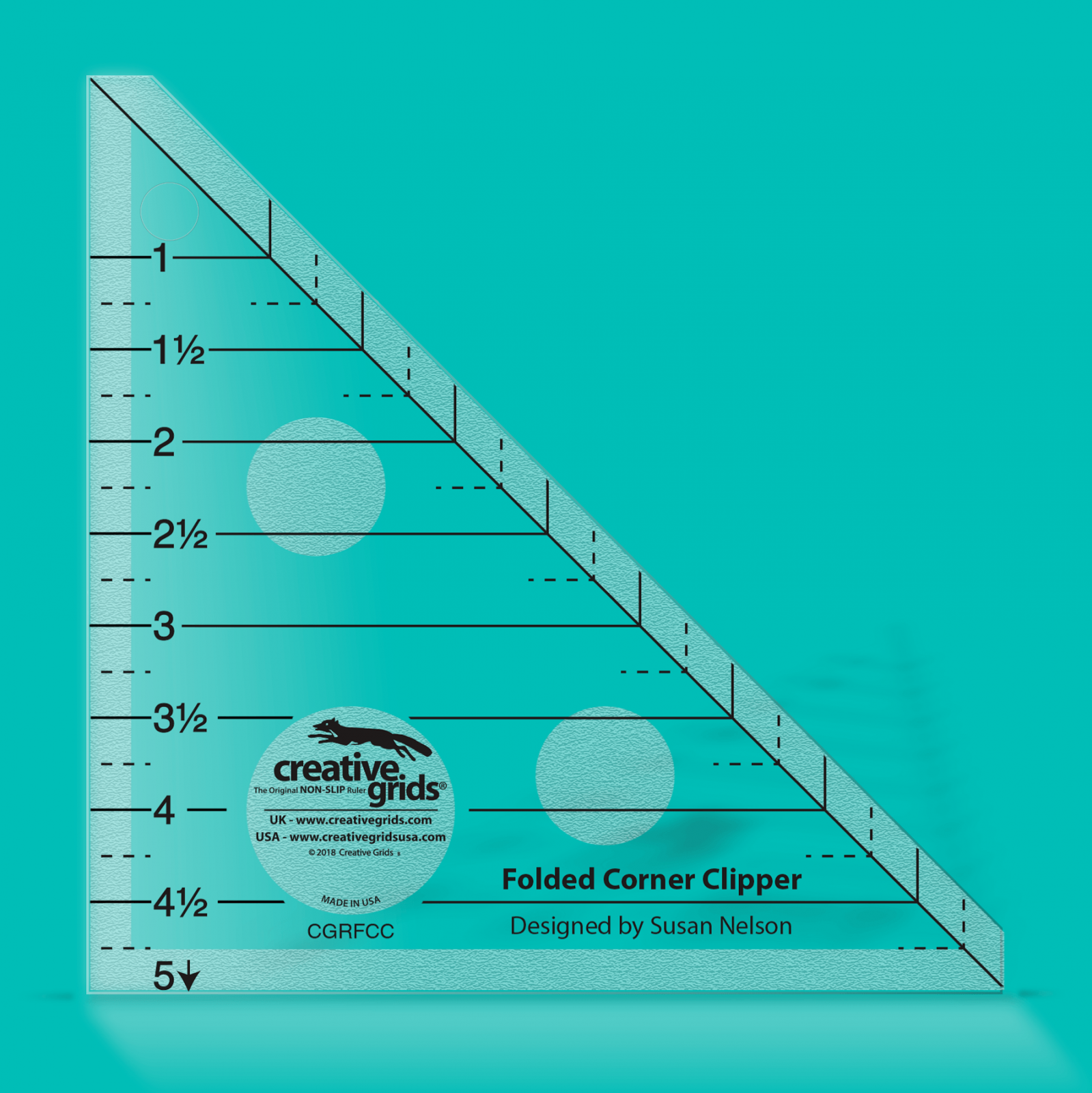 Folded Corner Clipper by Creative Grids