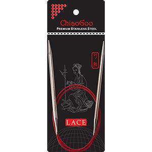 ChiaoGoo Lace SS 32 Circular Size 0