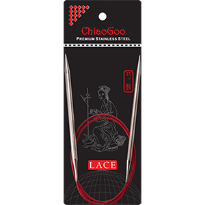ChiaoGoo Lace SS 32 Circular Size 2