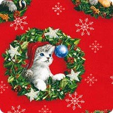 Cats Christmas Pets AOX-16688-223