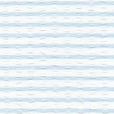 Light Blue Seersucker SRK-18023-289 Cote D'Azur Seersucker