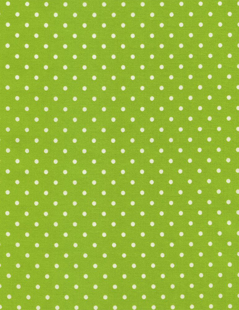 Polka Dot Basic Lime