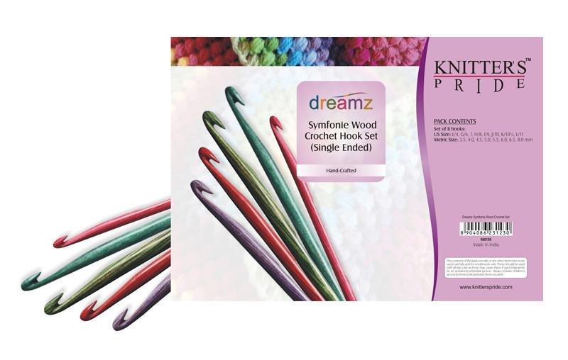 Knitter's Pride Dreamz 6 Crochet Set *PREORDER*