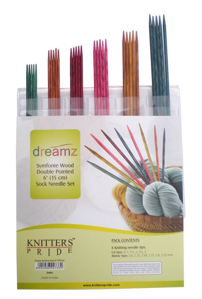 Knitter's Pride - Dreamz - 6 Double Pointed Needle Sock Set PREORDER