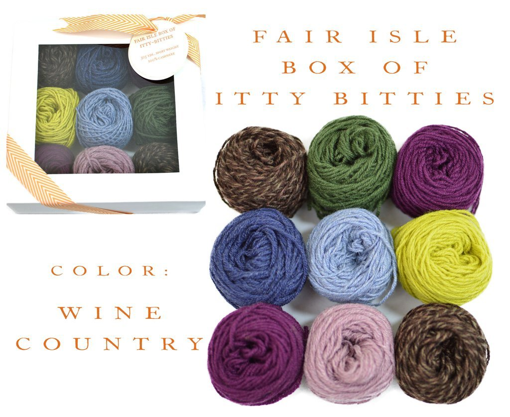 Fair Isle Box Wine Country
