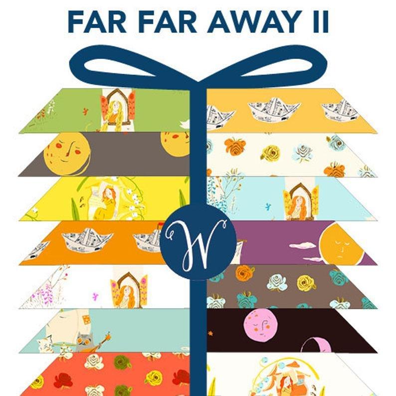 Fat Quarter Bundle of Far Far Away 2 by Heather Ross 23 FQs
