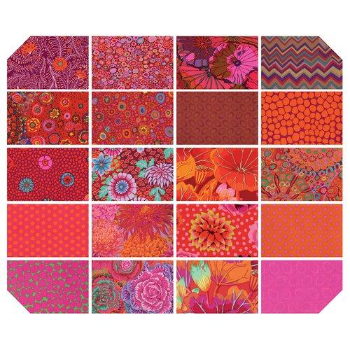 Lipstick 40 pc Design Roll FB3DRGP.LIPST 2-1/2 strips Kaffe Fassett Collective