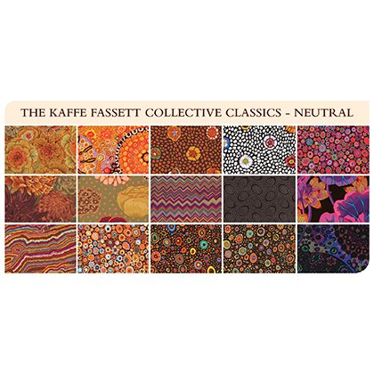 Neutral 5 Charm Pack Kaffe Fassett Collective