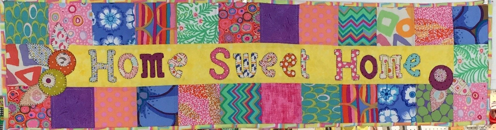 Home Sweet Home Row Mini Quilt KIT