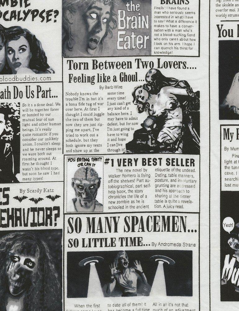 Zombie Newspaper Gail-C5247-Zombie