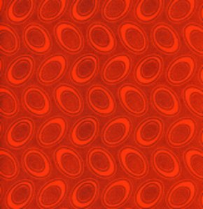 Aboriginal Dot Orange Kaffe Fassett