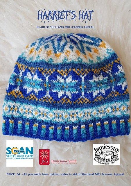 Harriet's Hat yarn kit