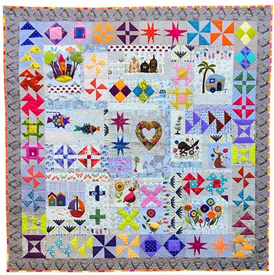 Hidden Treasures quilt pattern by Wendy Williams of Flying Fish Kits PREORDER
