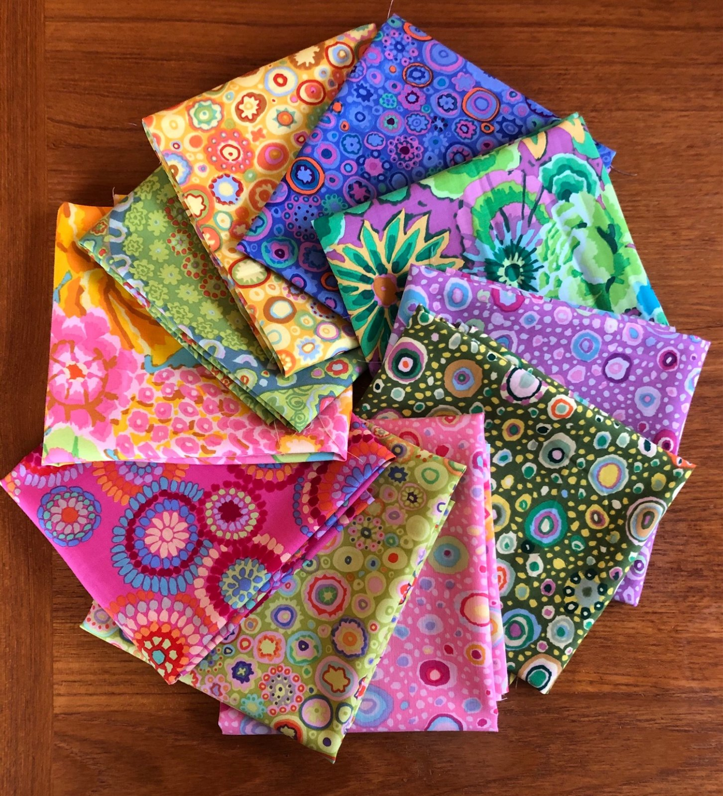 Kaffe Fassett Collective Pastel Half yard Bundle