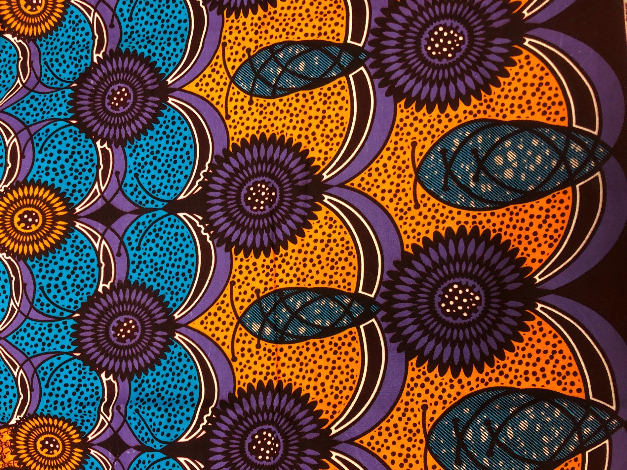 African Wax Print R12