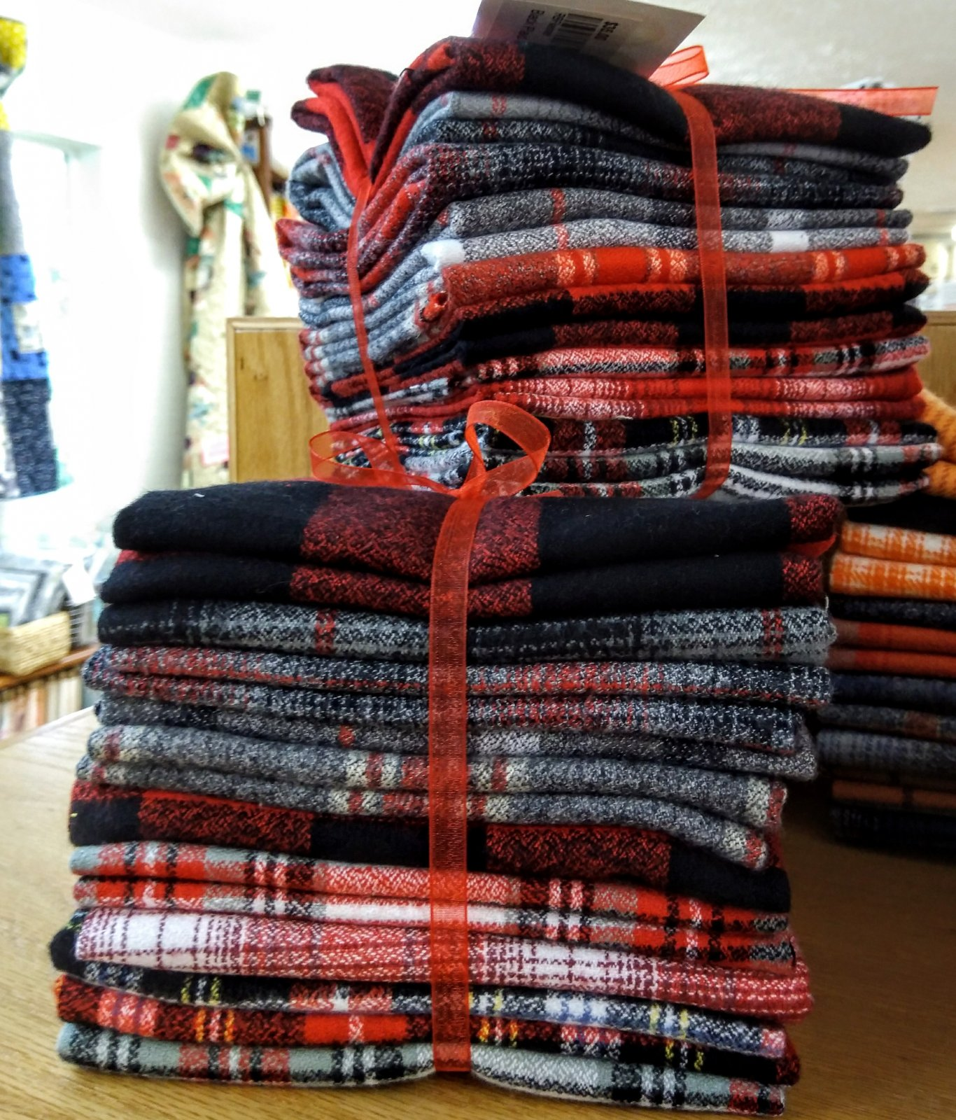 Plaid Flannel Brick by Brick Bundle 10 FQ