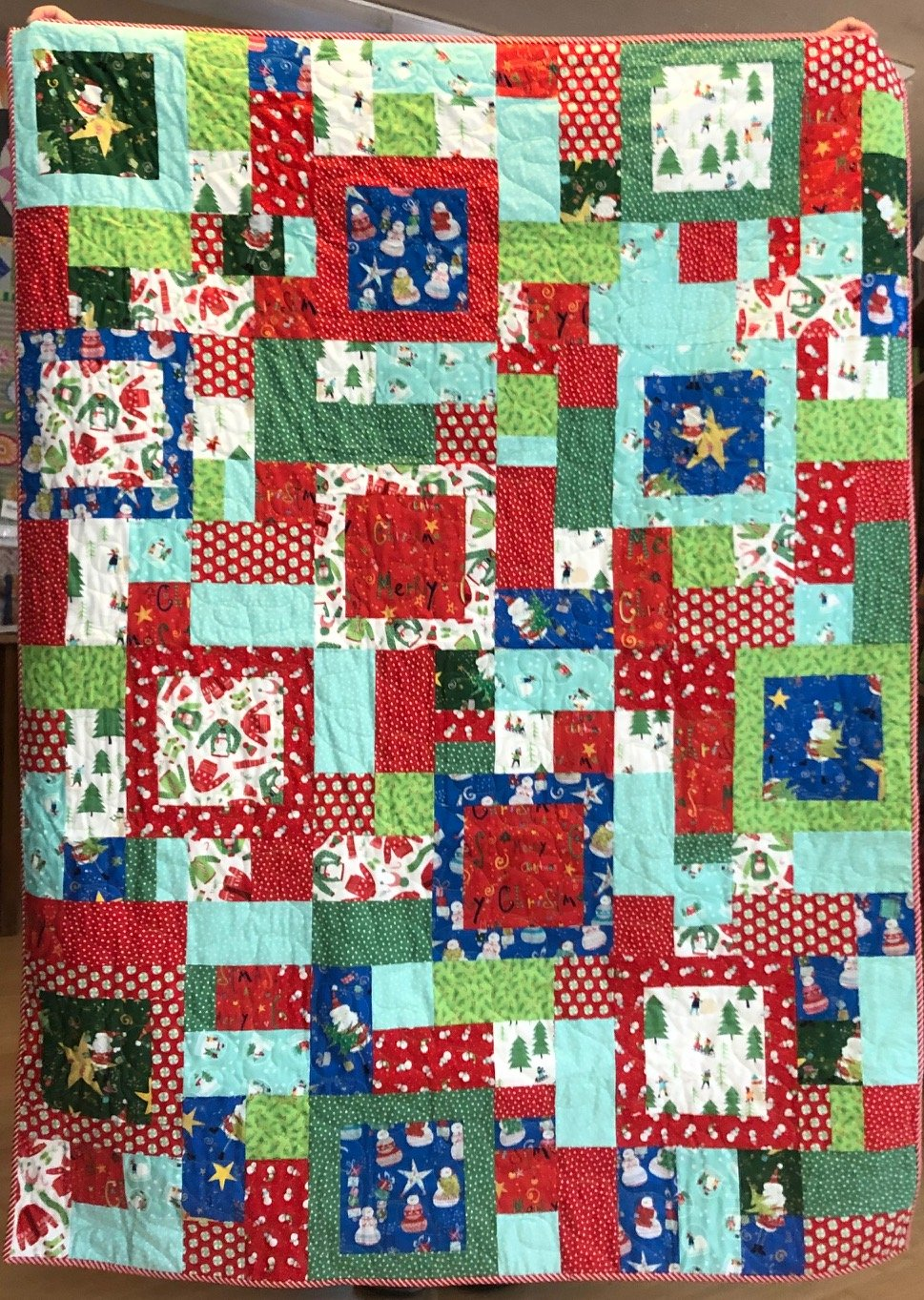 Framed Christmas 13 fat quarter bundle