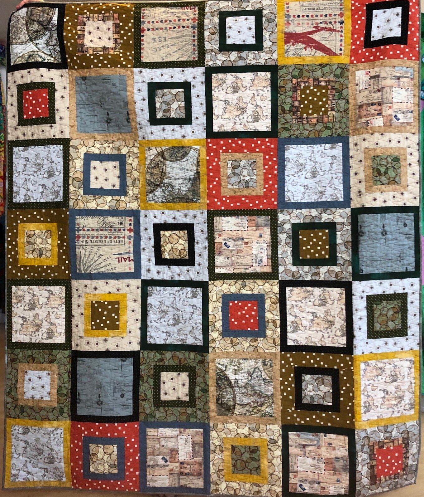 Squares of the Seven Seas 20 fat quarter bundle