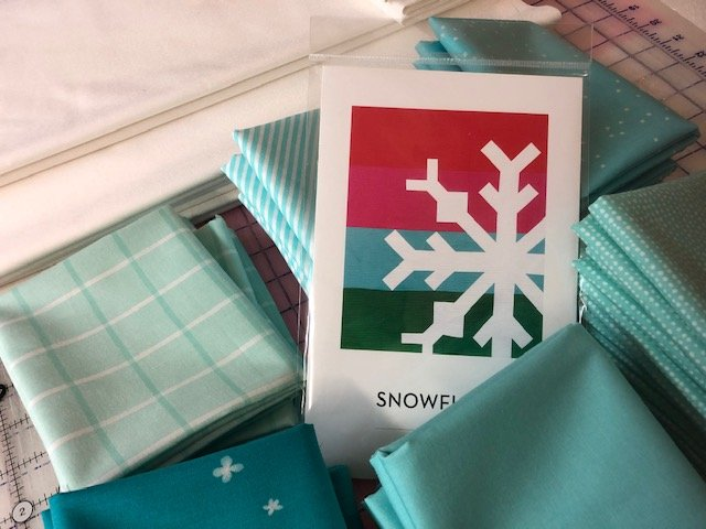 Blue Snowflake Quilt