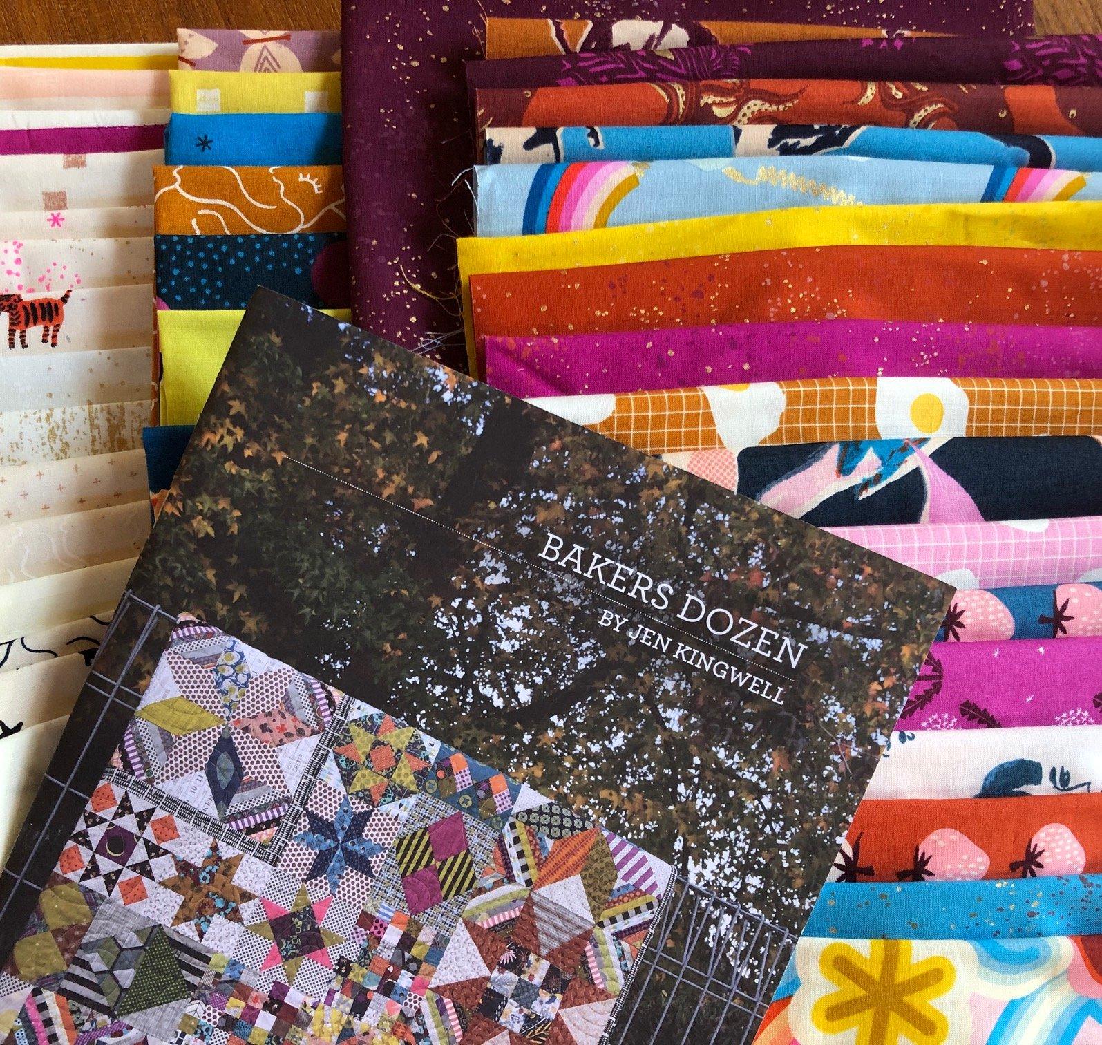 Ruby Star's Bakers Dozen quilt kit pattern sold separately