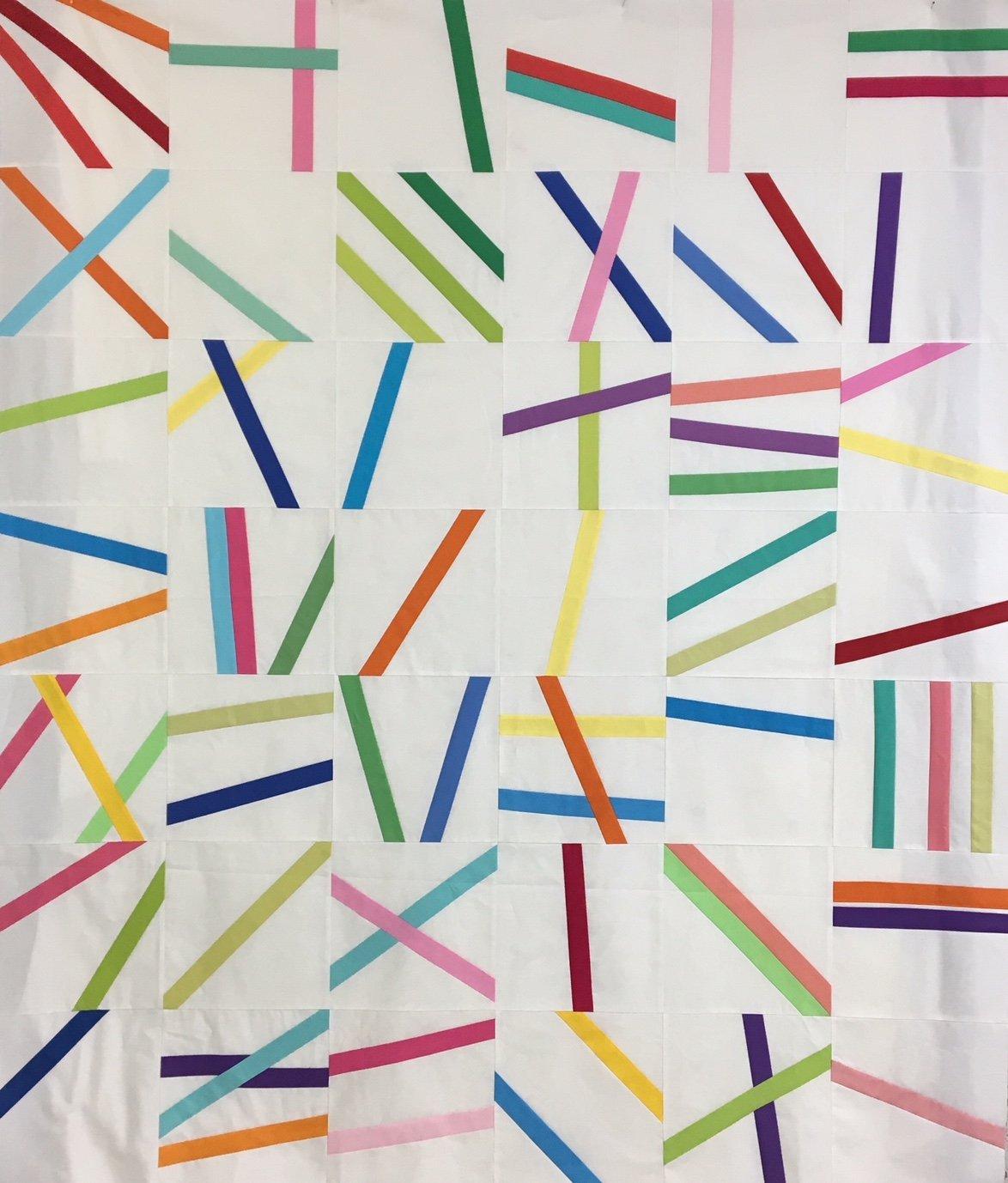 Rainbow Sprinkles pattern