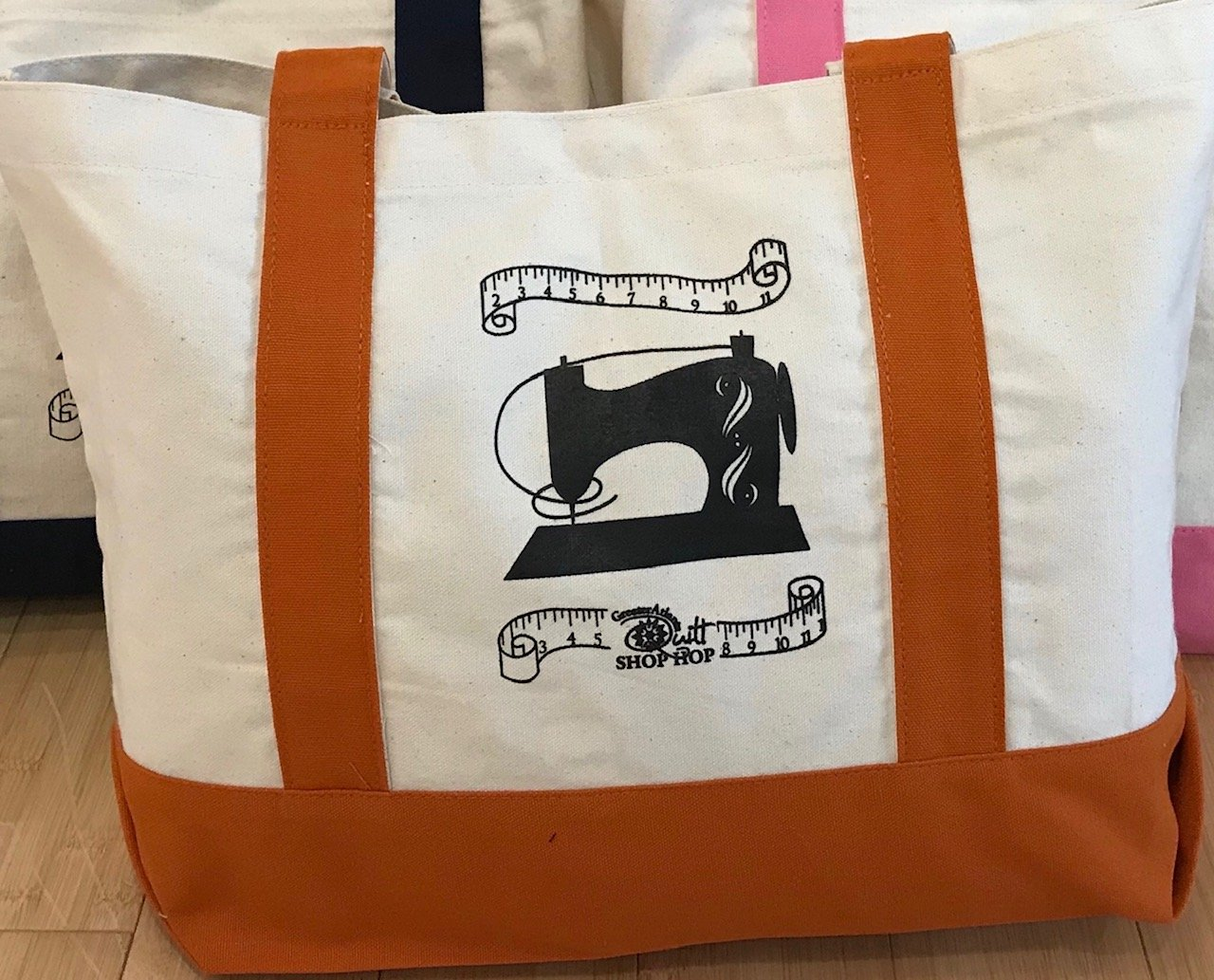 Shop Hop Tote Bag 2019