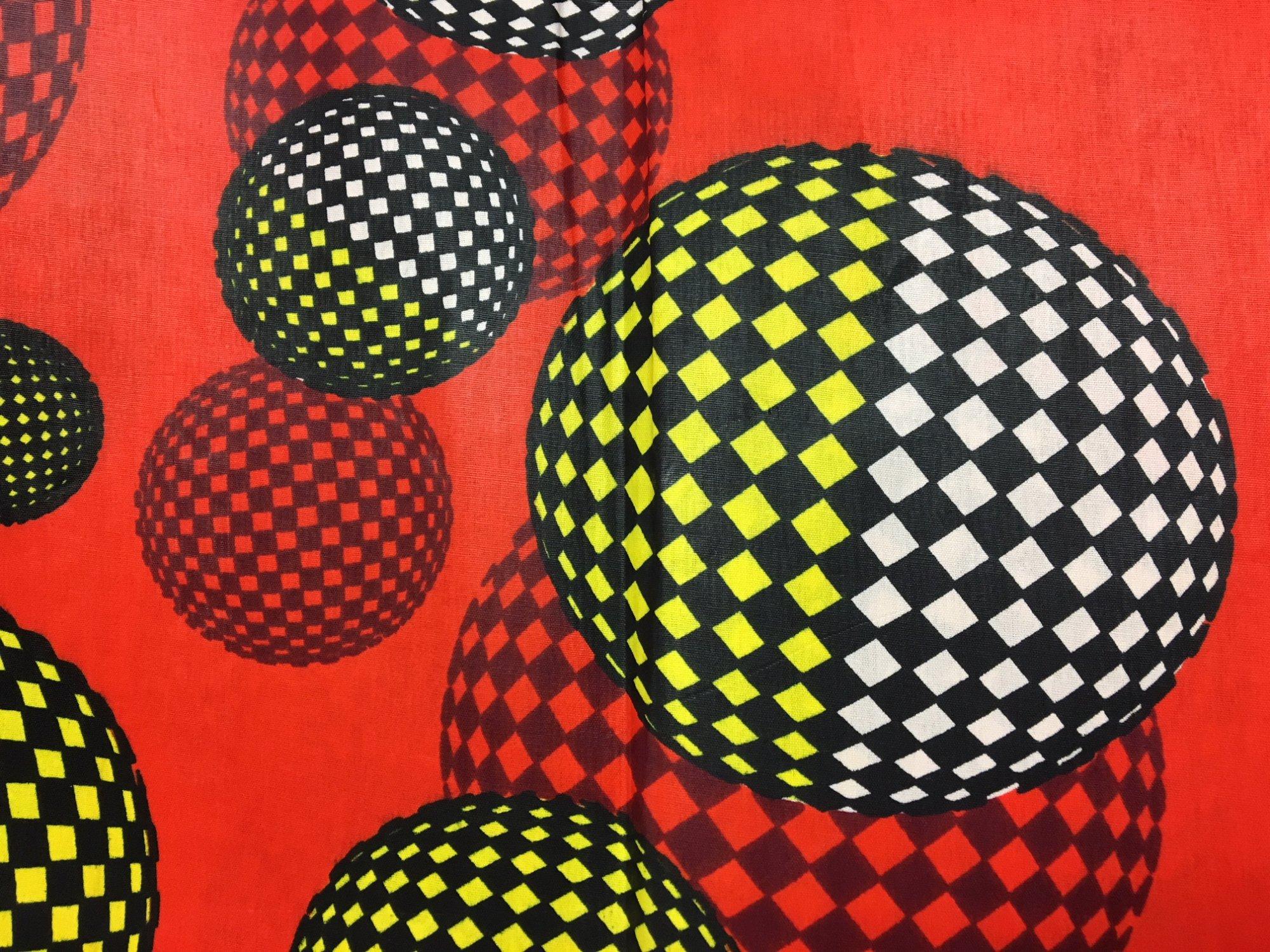 Orange with Black/White Sphere 708009