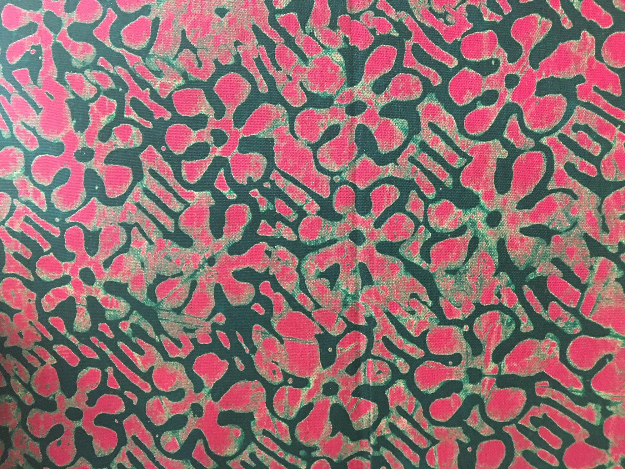 Pink daisy batik R-9