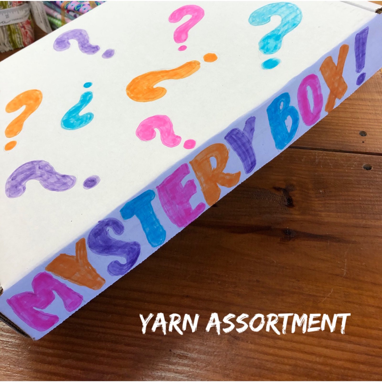 Mystery Box -- Choose Your Option!