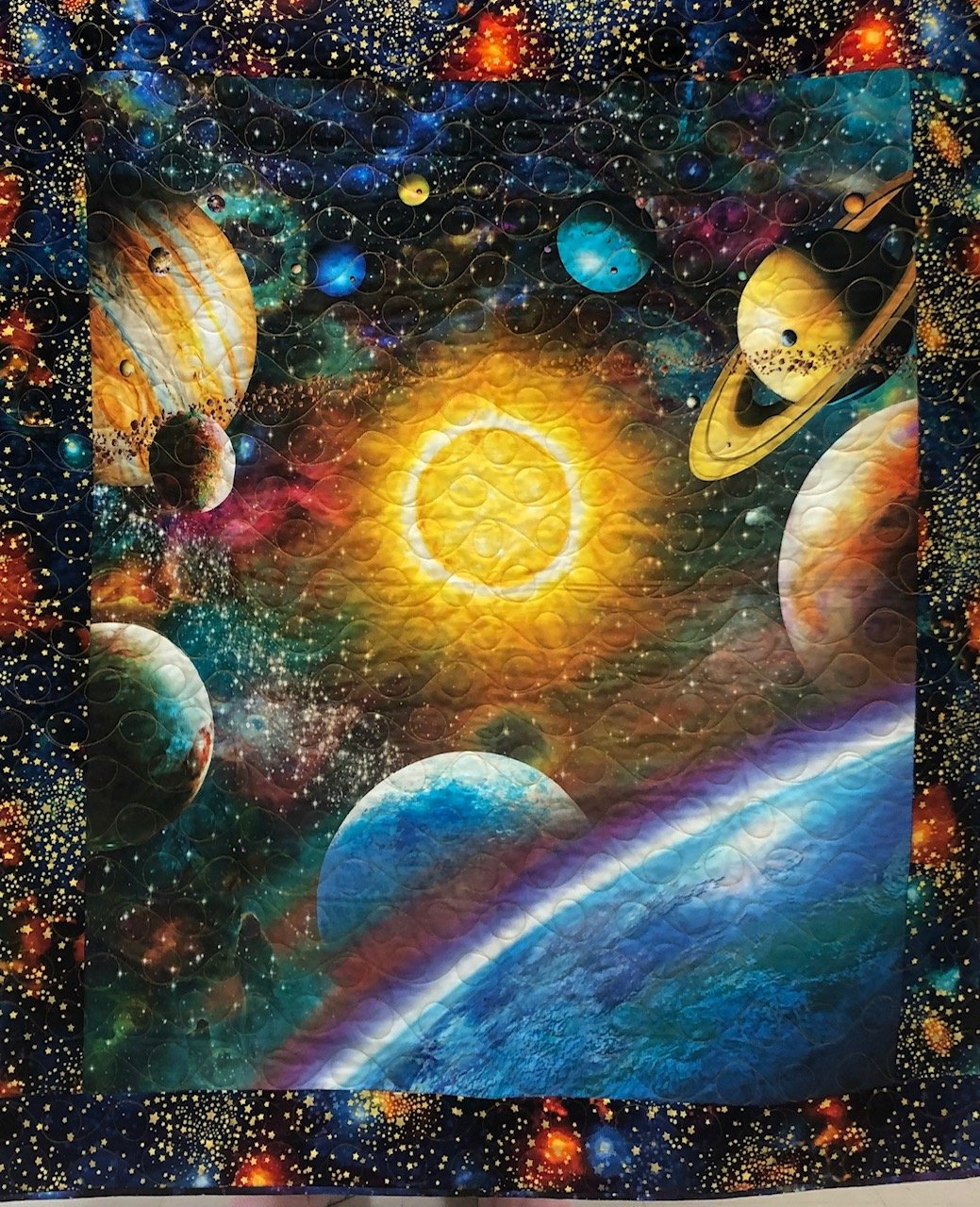 Lost in Space quilt kit