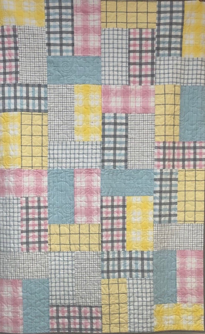 Baby Bricks Plaid Flannel Bundle 8 fat quarters
