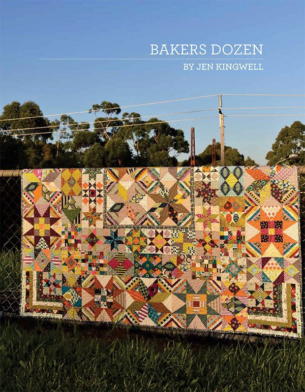Bakers Dozen pattern book
