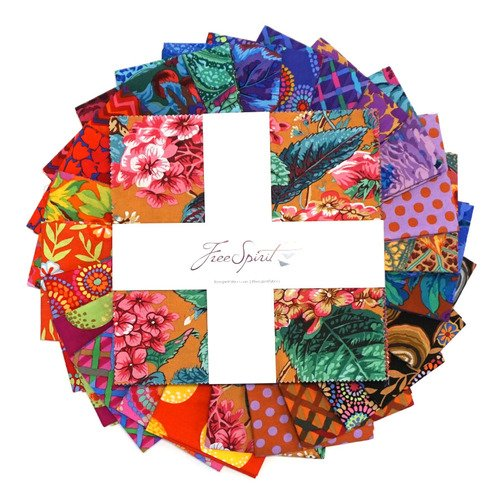 10 Charm Pack FB610GP.F2020WARM Kaffe Fassett Collective February 2020