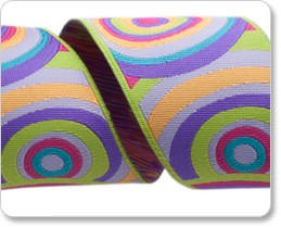 38mm Kaffe Fassett Lime Purple Pink Target