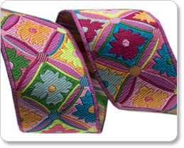 23mm Kaffe Fassett Pink Antwerp Flowers