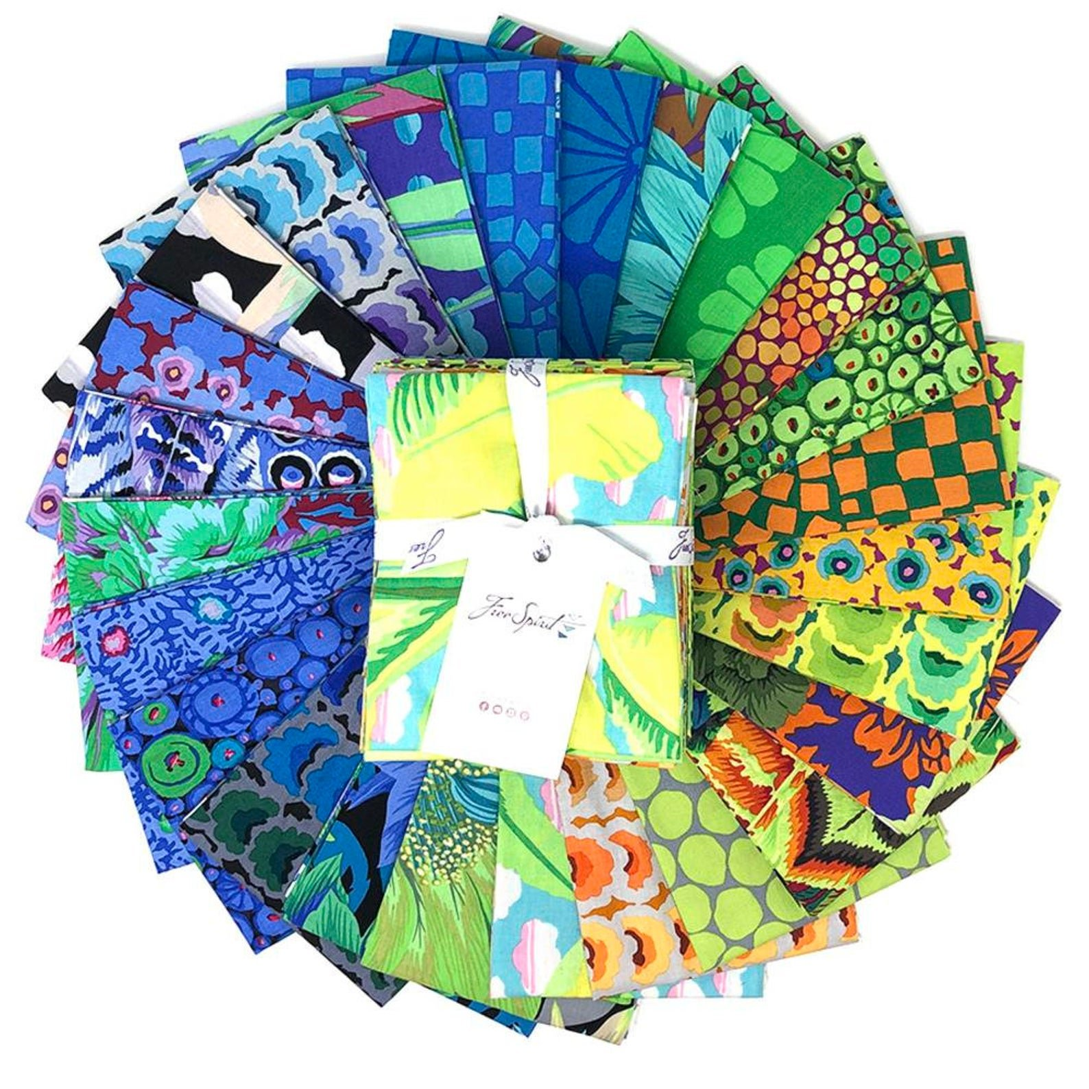 Kaffe Fassett Collective February 2021 Cool Fat Quarters