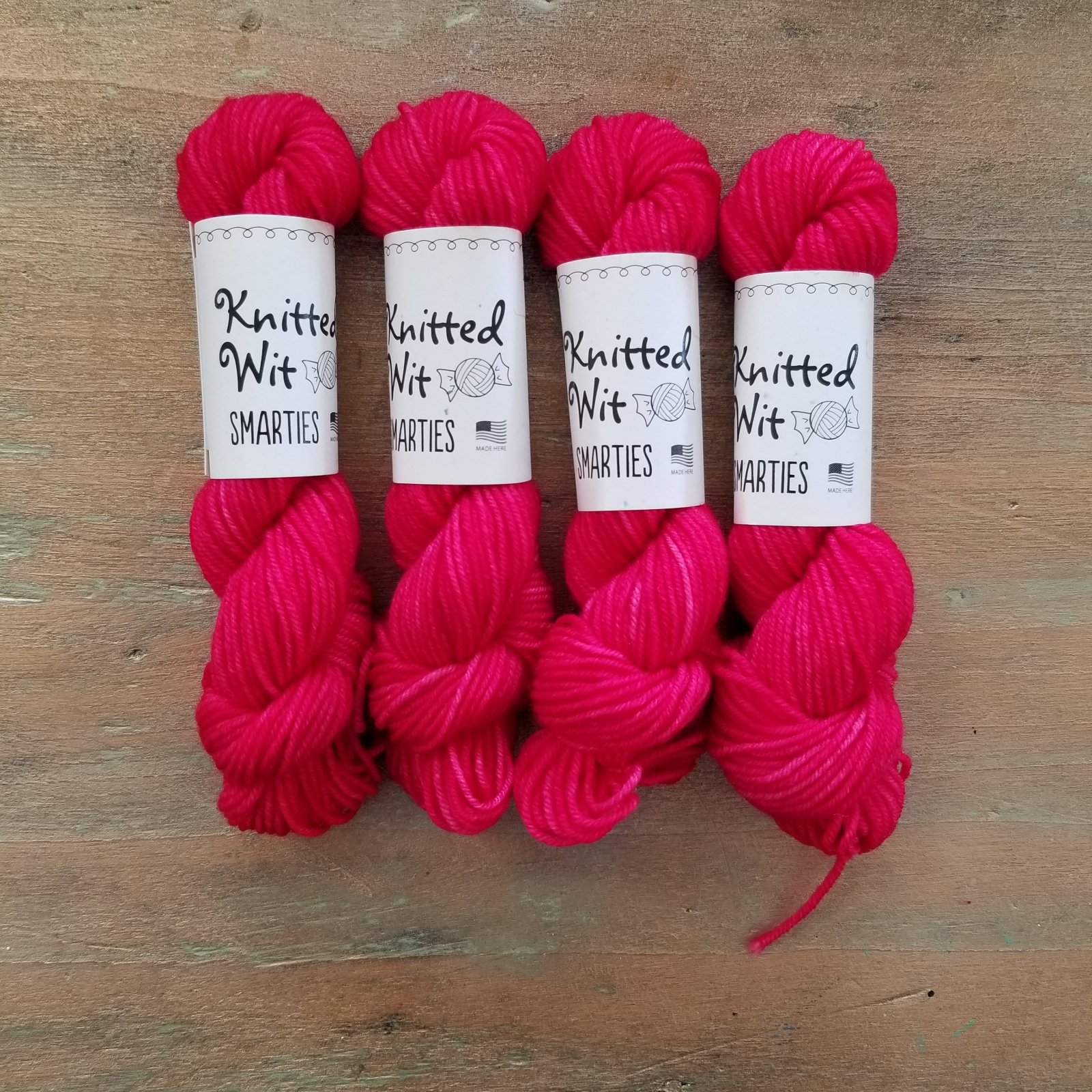 Liberally Bleeding Heart Smarties Victory Sock by Knitted Wit