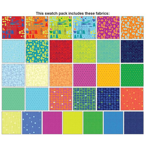 Modern Marks 2.5 x 42 Pinwheel Modern Marks by Christa Watson