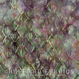 Geometric Blocks Bonsai batik