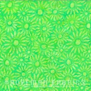 Daisies French Lime batik
