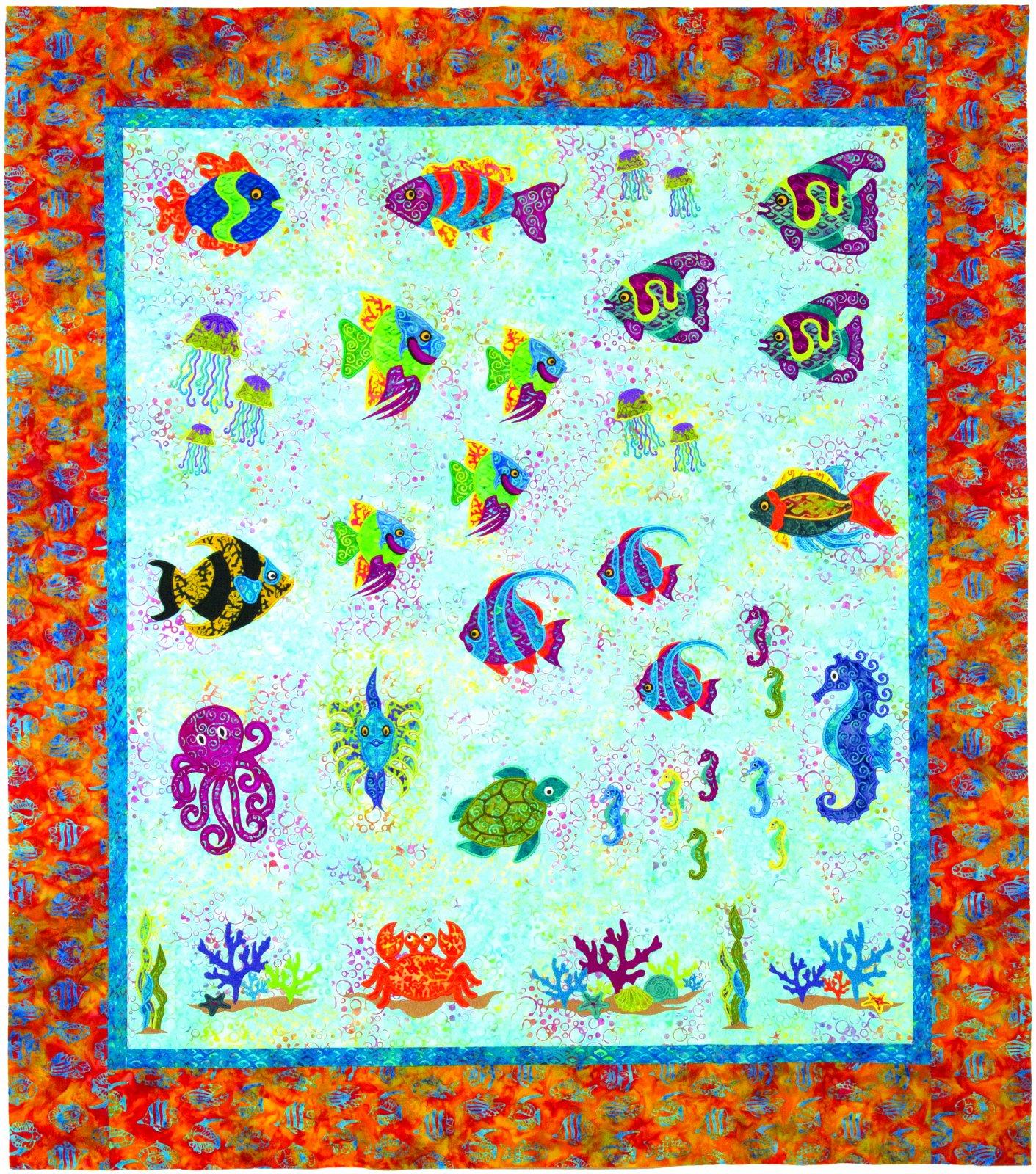 Ocean Odyssey quilt kit