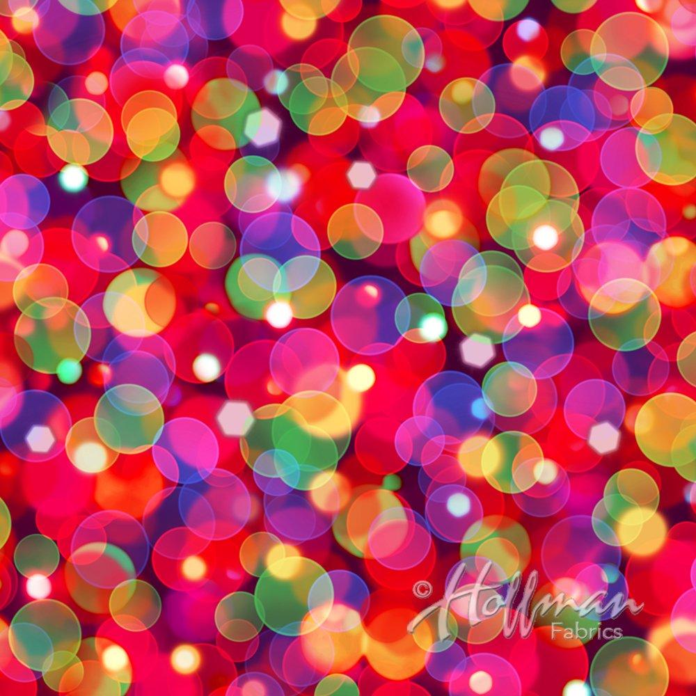 All Aglow Spectrum Christmas lights