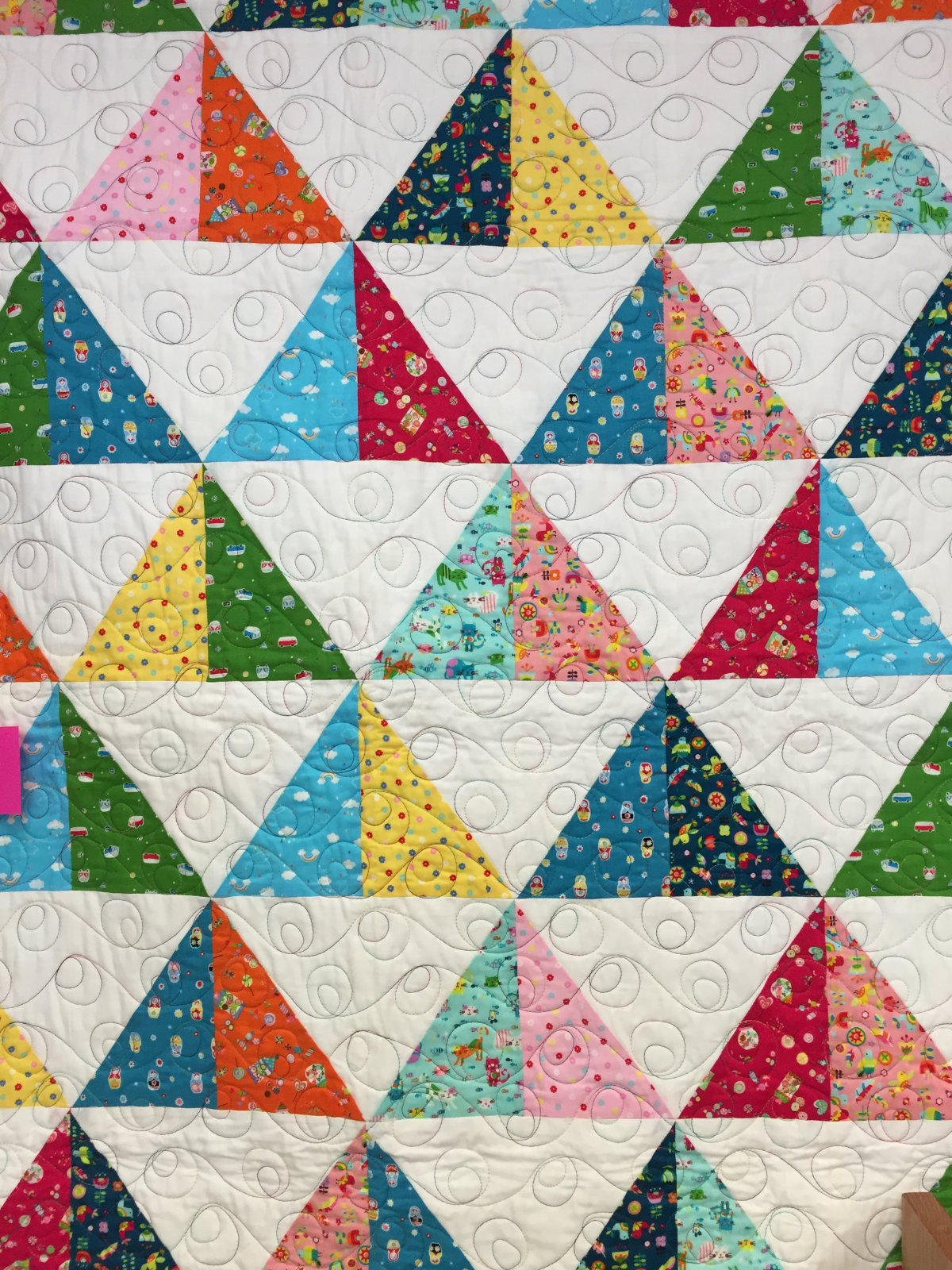 Pieni Points Finished Quilt