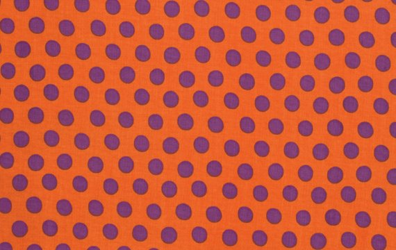 Spot Orange Kaffe Fassett