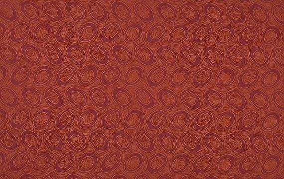 Aboriginal Dot Pumpkin Kaffe Fassett